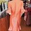 ชุดเสื้อกระโปรงผ้าฝ้ายสุโขทัยแต่งลายมุกสายรุ้ง ไซส์ S thumbnail 3