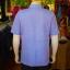 เสื้อสูทผ้าฝ้ายผสม สีม่วงอ่อน ไซส์ XL thumbnail 3