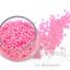 ลูกปัดมุกพลาสติก 4มิล สีชมพู (15 กรัม) thumbnail 1