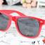 แว่นตากันแดดแฟชั่นเกาหลี สีแดง thumbnail 3