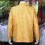 เสื้อสูทไหมแพรทองคอพระราชทานแขนยาว สีทอง ไซส์ XL thumbnail 3
