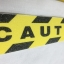 """ANTI SLIP TAPE เทปกันลื่น สีเหลืองดำ หน้ากว้าง 2"""" ยาว 5 เมตร มีข้อความ """" CAUTION """" เทปมีกาว ผิวหยาบ สำหรับติดบันได ทางเดิน thumbnail 2"""