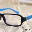 แว่นตาแฟชั่นเกาหลี สีดำฟ้า (ไม่มีเลนส์) thumbnail 2
