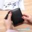 กระเป๋าสตางค์ Piece 2 Way wallet Size S [พับปิดกระดุม+มีซิปแยก] thumbnail 9