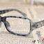 แว่นตาแฟชั่นเกาหลี สีเทาเสือดาว (ไม่มีเลนส์) thumbnail 2
