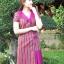 เดรสผ้าฝ้ายลายมุกสายรุ้ง ไซส์ 3XL thumbnail 3