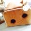 บ้านที่นอนสัตว์เลี้ยง อบอุ่นและนอนสบาย สีน้ำตาล มี 2 ไซส์ thumbnail 8
