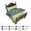 เตียงไม้สำหรับสัตว์เลี้ยงสไตล์วินเทจ พร้อมชุดเครื่องนอน ขนาดเล็กและขนาดกลาง thumbnail 5