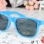 แว่นตากันแดดแฟชั่นเกาหลี สีฟ้า thumbnail 3