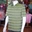เสื้อสูทผ้าฝ้ายลายมัดหมี่สุโขทัย ไซส์ 2XL thumbnail 3