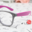 แว่นตาแฟชั่นเกาหลี เทาโรส (ไม่มีเลนส์) thumbnail 2