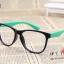 แว่นตาแฟชั่นเกาหลี สีดำเขียว (ไม่มีเลนส์) thumbnail 1