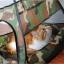 MU0015 เต๊นท์นอนแมว ตาข่าย ลายพรางทหาร ระบายอากาศได้ดี CAMOUFLAGE CAT TENT thumbnail 9