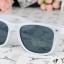 แว่นตากันแดดแฟชั่นเกาหลี สีขาว thumbnail 3