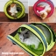 MU0014 อุโมงค์ที่นอนแมว เกลียวตาข่าย มีเบาะรองนั่ง ระบายอากาศได้ดี Spiral cat bed Fashion spiral cat litter thumbnail 15