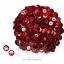 เลื่อมจานดิสโก้ 8มิล สีแดง (120 กรัม) thumbnail 1