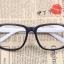แว่นตาแฟชั่นเกาหลี กรอบดำขาว (ไม่มีเลนส์) thumbnail 1
