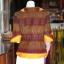 เสื้อผ้ามัดหมี่ทอมือ ไซส์ L thumbnail 3