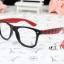 แว่นตาแฟชั่นเกาหลี หมากรุกดำแดง (ไม่มีเลนส์) thumbnail 1