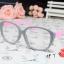 แว่นตาแฟชั่นเกาหลี วินเทจเทาชมพู (พร้อมเลนส์) thumbnail 2