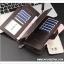 กระเป๋าสตางค์ผู้ชายใบยาว MZ-022 [มีซิป] thumbnail 4