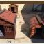 บ้านไม้หมาน้อยยกพื้น บ้านส่วนตัวของหมาน้อยขนาดกลางถึงใหญ่ มีกันสาด มุ้งลวด ระเบียงหน้าบ้านนั่งเล่น สีน้ำตาล thumbnail 24