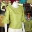 เสื้อผ้าไหมญี่ปุ่น ปักมุกระย้า ไซส์ XL thumbnail 2
