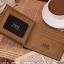 กระเป๋าสตางค์หนังแท้ Vico&Nelo 002 [สีน้ำตาล] thumbnail 4
