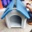 บ้านพลาสติกสัตว์เลี้ยง หมาแมว ตั้งไว้กลางแจ้งได้ ระบายอากาศปลอดโปร่ง thumbnail 16