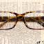 แว่นตาแฟชั่นเกาหลี สีน้ำตาลเสือดาว (ไม่มีเลนส์) thumbnail 1