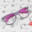 แว่นตาแฟชั่นเกาหลี เทาโรส (ไม่มีเลนส์) thumbnail 1