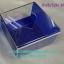 กล่องทิชชูป๊อบอัพ สีน้ำเงินโปร่ง thumbnail 1