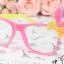 แว่นตาแฟชั่นเกาหลี กระต่ายชมพูเหลือง (ไม่มีเลนส์) thumbnail 2