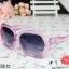 แว่นตากันแดดแฟชั่นเกาหลี กรอบเหลี่ยมสีชมพูใส thumbnail 1
