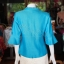 เสื้อผ้าฝ้ายสุโขทัย ปักมุก ไซส์ 2XL thumbnail 4