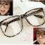 แว่นตาแฟชั่นเกาหลี สีน้ำตาลเสือดาว (พร้อมเลนส์) thumbnail 1