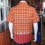 เสื้อเชิ้ตผ้าฝ้ายทอลายช้าง ไม่อัดผ้ากาว ไซส์ 2XL thumbnail 2