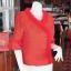 เสื้อผ้าฝ้ายสุโขทัยแต่งระบายผ้าแก้ว ไซส์ S thumbnail 2