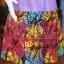 เดรสผ้าฝ้ายสุโขทัยสีม่วงแต่งผ้าฝ้ายบาติก ไซส์ XL thumbnail 4