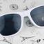 แว่นตากันแดดแฟชั่นเกาหลี สีขาว thumbnail 2