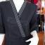 เดรสผ้าฝ้ายสุโขทัยสีดำ ไซส์ 2XL thumbnail 2