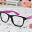 แว่นตาแฟชั่นเกาหลี กระโหลกดำโรส (ไม่มีเลนส์) thumbnail 2