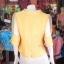 เสื้อผ้าฝ้ายสุโขทัย ปกและแขนผ้าแก้ว ไซส์ M thumbnail 3