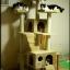MU0061 คอนโดแมวเจ็ดชั้น ขนาดใหญ่ ต้นไม้แมว มีบ้านอุโมงค์สองชั้น ของเล่นแขวน สูง 180 cm thumbnail 13