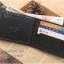 กระเป๋าสตางค์ผู้ชาย MS210 สีดำ thumbnail 9