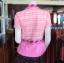 เสื้อผ้าทอลายช้างปกเชิ้ต สีชมพู ไซส์ S thumbnail 3