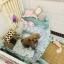 เตียงไม้สำหรับสัตว์เลี้ยงสไตล์วินเทจ พร้อมชุดเครื่องนอน ขนาดเล็กและขนาดกลาง thumbnail 10