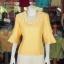 เสื้อผ้าฝ้ายสุโขทัย ปักมุก ไซส์ 3XL thumbnail 1