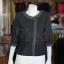 เสื้อผ้าฝ้ายสุโขทัยสีดำแต่งปักไหม ไซส์ 2XL thumbnail 1