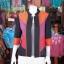 เสื้อคลุมผ้าฝ้ายสุโขทัยคอจีน ไซส์ M thumbnail 1